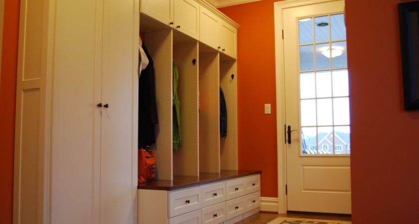Custom Mud Room Lockers Home Office Creative