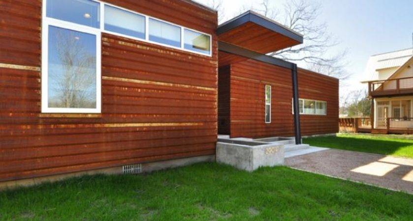 Custom Prefab Modular House Patinated Metal Facade