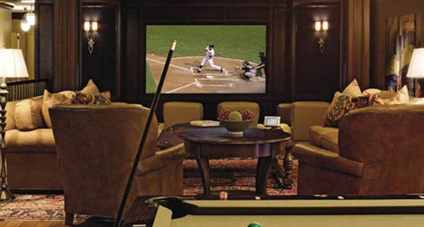 Decor Home Theater Room Decorating Ideas