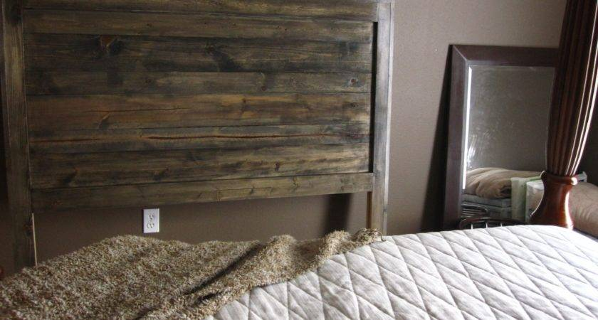 Designer Bedroom Ideas Simple Diy Rustic Recycled Wooden Bed Headboard