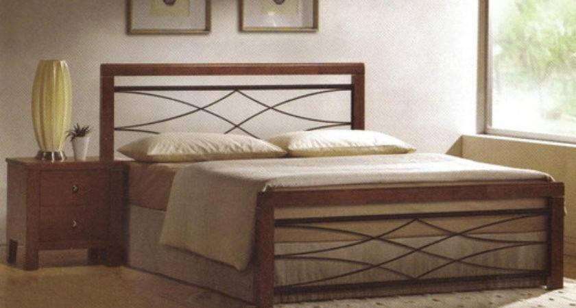 Designs Beds New Parker Metal Timber Bed Ebay