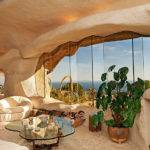 Dick Clark Flintstone Style House Malibu Sale