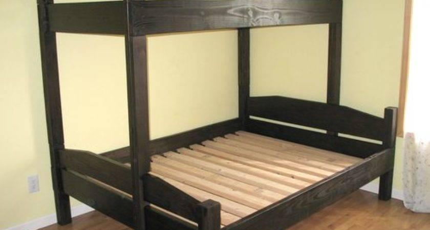 Diy Bunk Bed Plans Blueprints