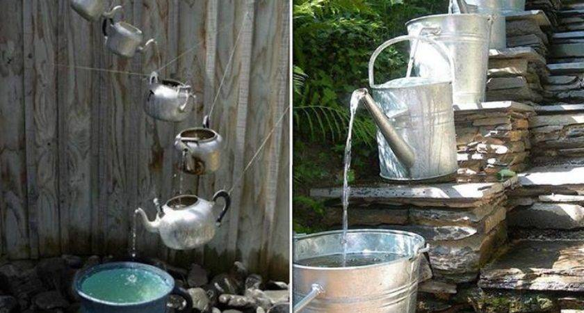 Diy Cascading Water Feature Cozy Home