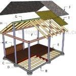 Diy Gazebo Plans Howtospecialist Build Step