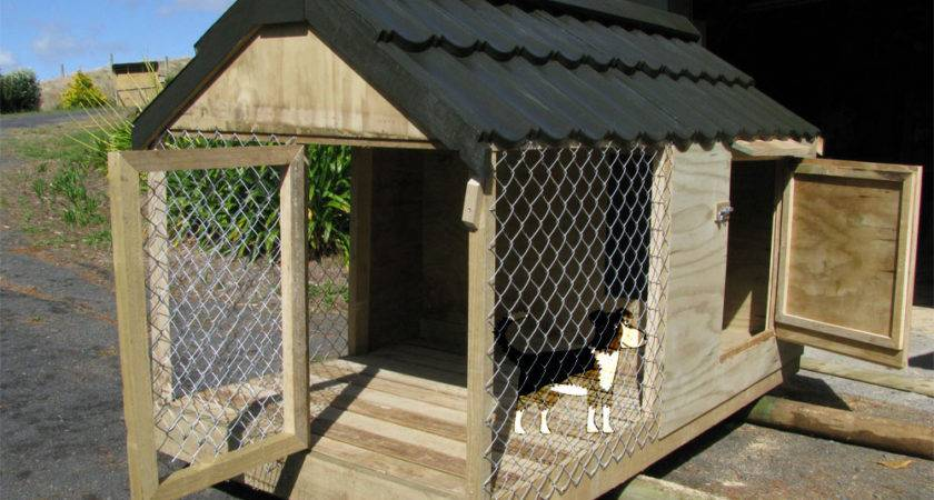 Dog House Outdoor Puppy Houses Kennels Runs Auckland