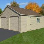 Double Wide Garages Glick Woodworks