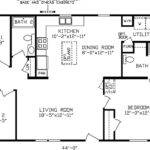 Double Wide House Trailers Floor Plans Mobile Homes Ideas