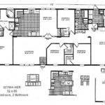 Double Wide Mobile Home Floor Plans Master Bedroom