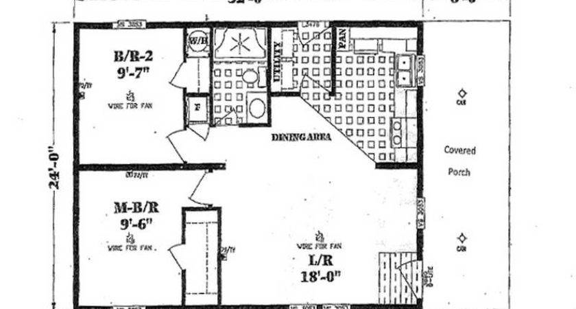 Double Wide Mobile Home Floor Plans Small