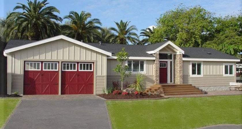 Double Wide Mobile Home Look Like House Homes Ideas