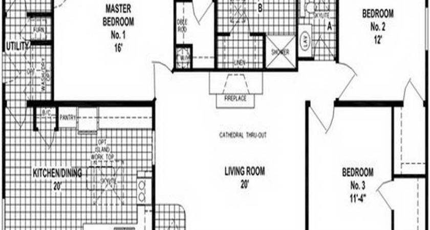 Double Wide Trailer Home Plans