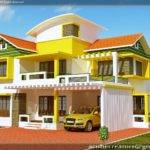 Duplex House Elevation Plan Acube Builders