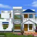 Duplex House Elevation Square Meters February