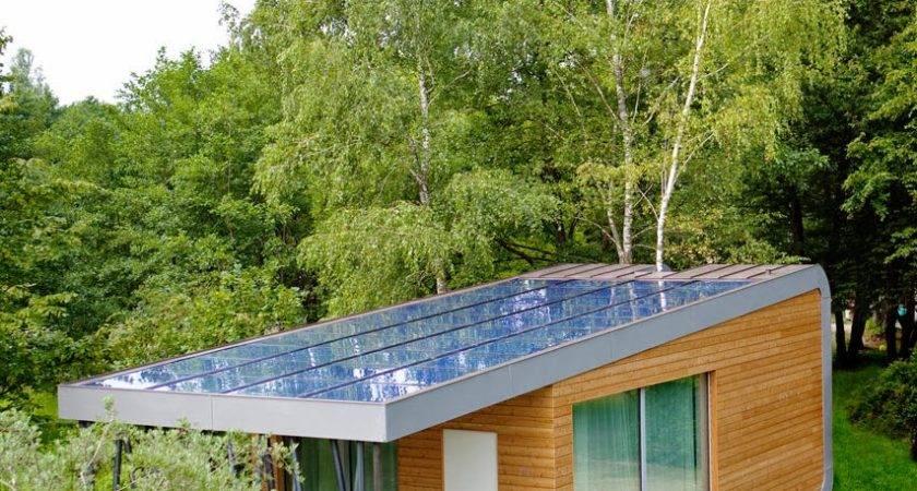 Eco Friendly Home Green Zero House Modern Design