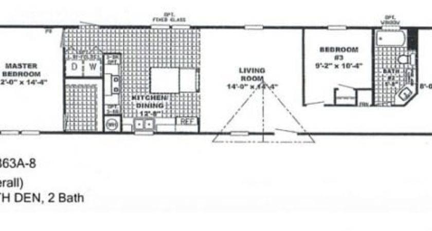 Elegant Single Wide Mobile Home Floor Plans