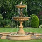 English Garden Ornamental Water Fountain Ideas