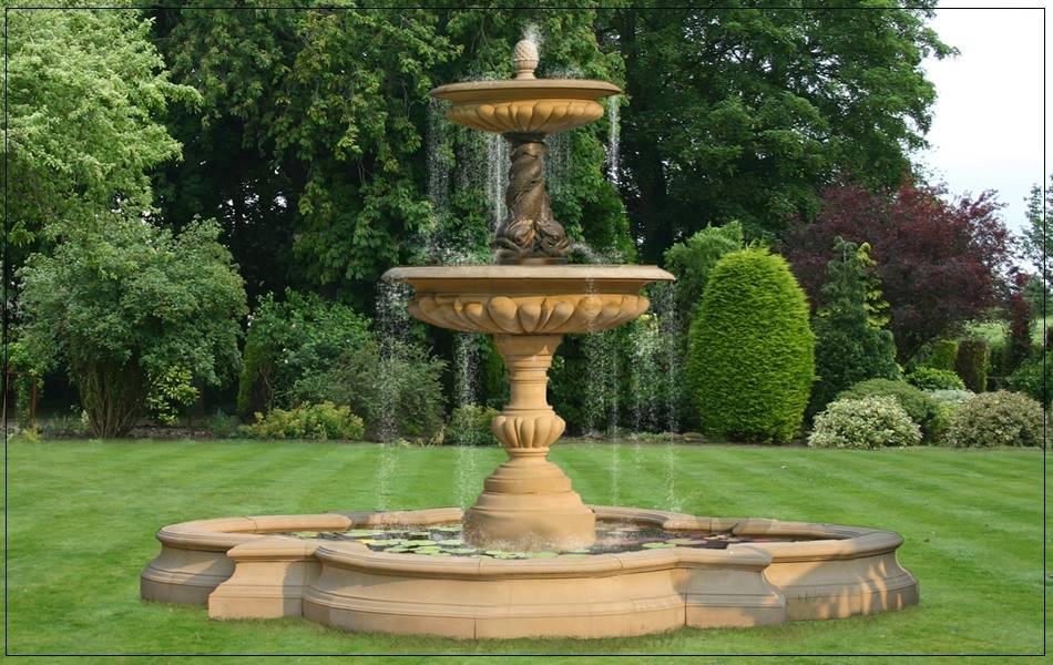 English Garden Ornamental Water Fountain Ideas - Kaf ...
