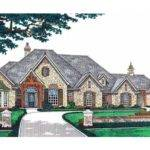 Eplans French Country House Plan Luxury Living Single Level
