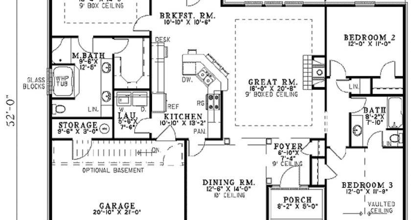 Exceptional House Plans Plan Top