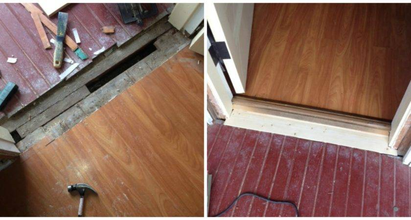 Exterior Door Laminate Flooring