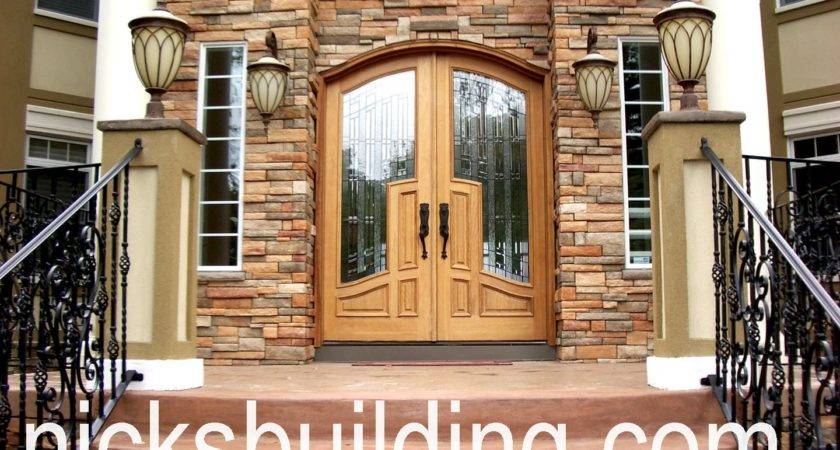 Exterior Doors Round Top Front Radius Sale