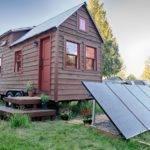 Exterior Mobile Small Home Trailer Tiny Tack House