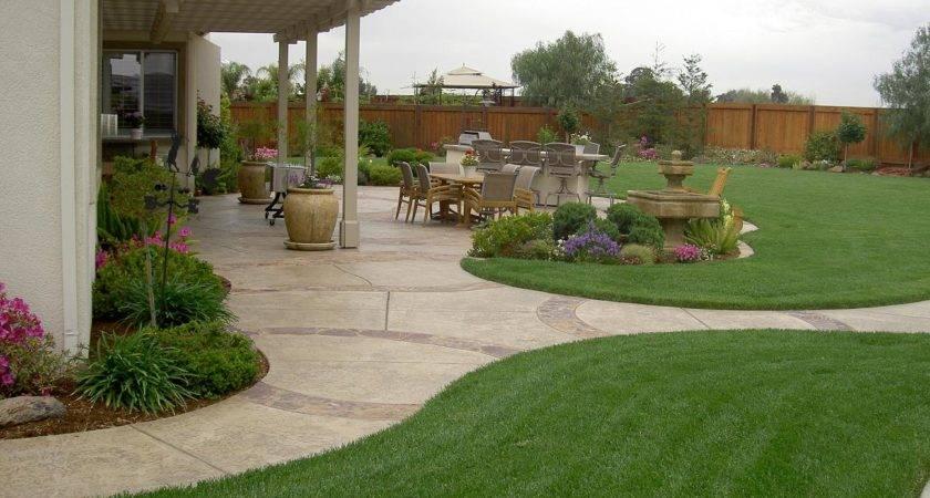 Fabulous Back Yard Landscaping Ideas Jpeg