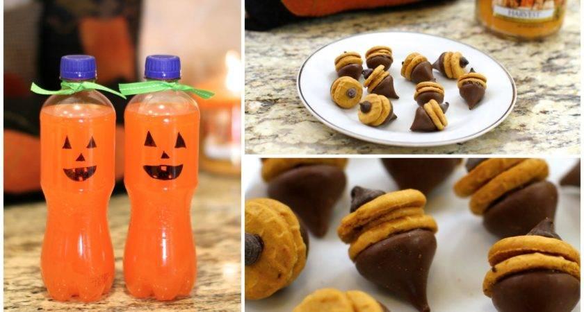 Fall Treats Diy Autumn Party Food Ideas Youtube