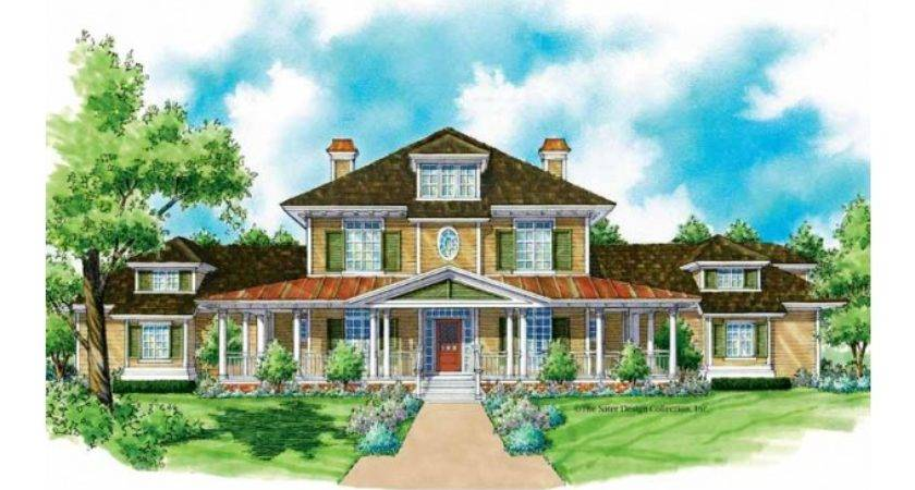 Farmhouse House Plan Private Master Suite Square Feet