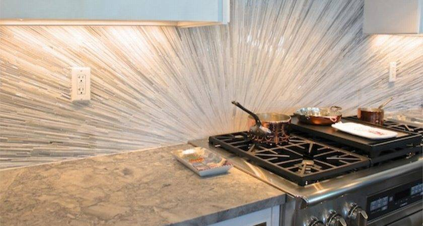 Fascinating Glass Backsplash Design Home Kitchen Ideas Decor