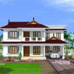 Feet Kerala Model House Home Design Floor Plans
