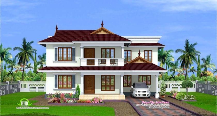 Feet Kerala Model House Home Design Floor Plans