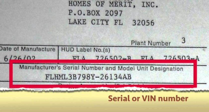 Find Vehicle Identification Number Vin