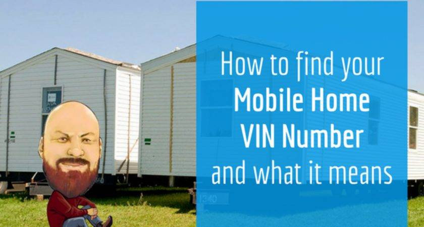 Find Your Mobile Home Vin Number Means