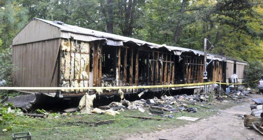 Fire Crews Battled Flames Hours Midland County Mobile Home