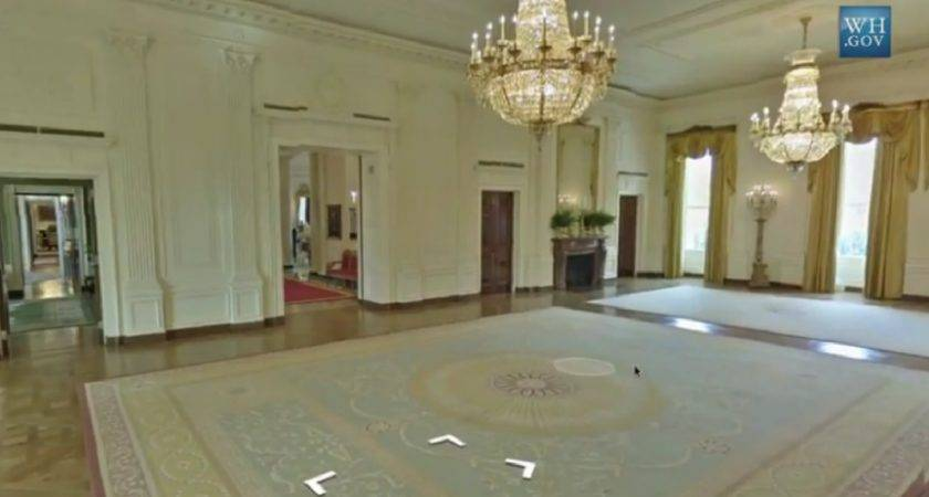 First Look White House Virtual Tour Google Art Project