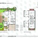 Floor Plan Bedroom Townhouse Sidra Raha Gardens Abu Dhabi