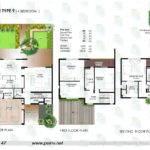 Floor Plan Bedroom Townhouse Yasmina Raha Gardens Abu