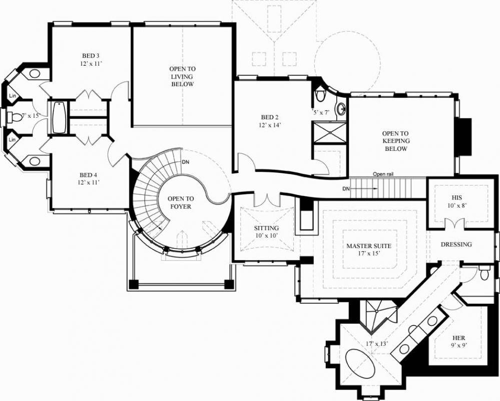 Floor Plans Small Luxury Homes