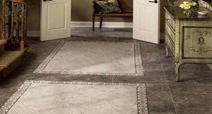 Flooring Kitchen Tile Floor Ideas Vintage