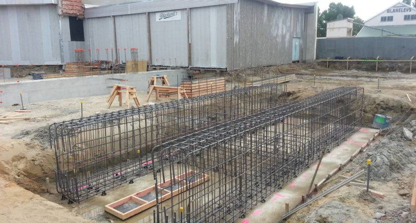 Foundation Steel Work Solid Foundations Begin
