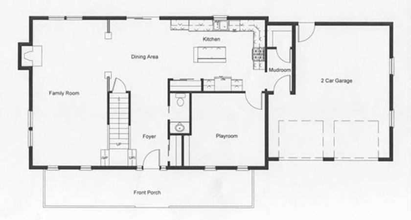 Foyer Intentionally Designed Into Modular Home Floor Plan