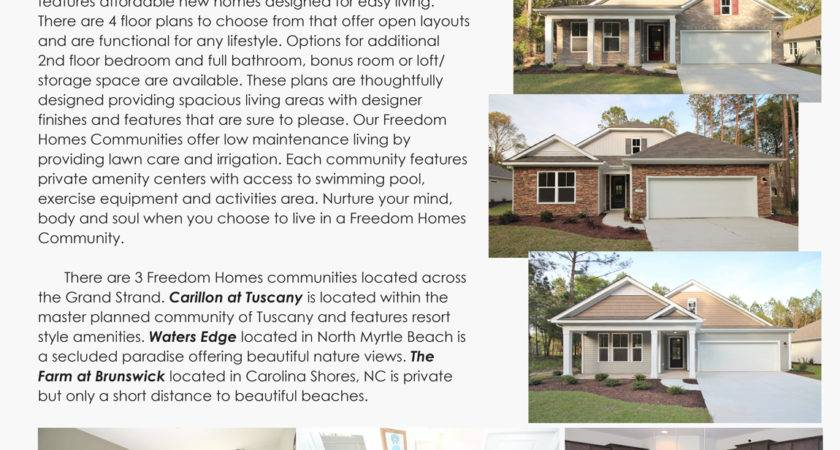 Freedom Homes Myrtle Beach Promotions Horton