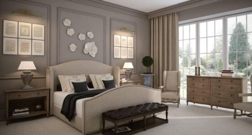 French Romance Master Bedroom Design