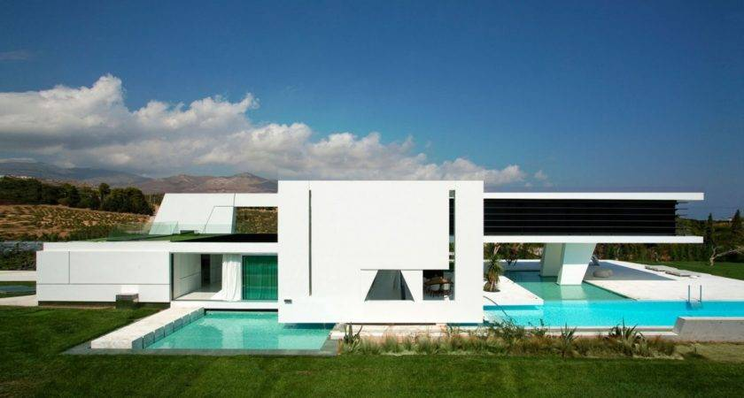 Futuristic Home Athens Greece Jet Life