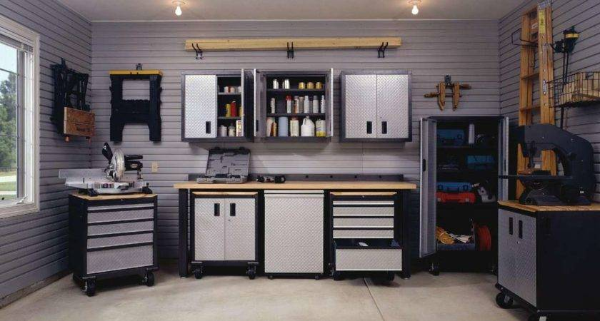 Garage Gorgeous Gray Modern Style Interior Design Ideas Black