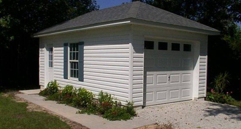 Garage Plans Small Building Stroovi