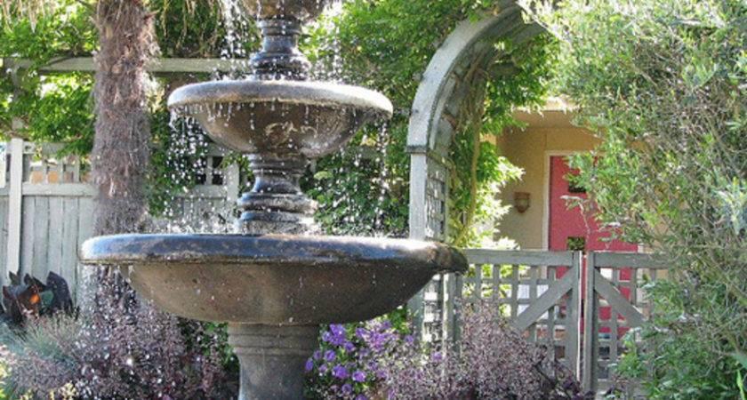 Garden Fountains Ideas Fountain