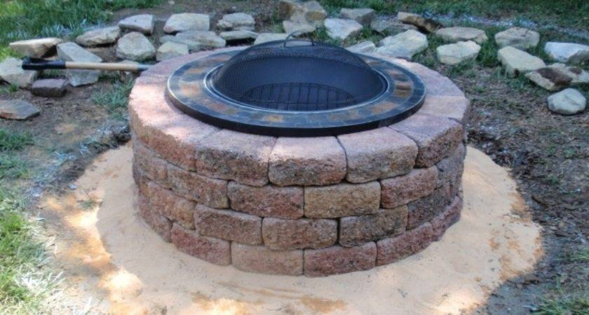 Gas Fire Pit Insert Lowes Ideas